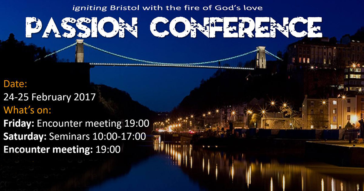 The Passion Conference - Bristol, UK