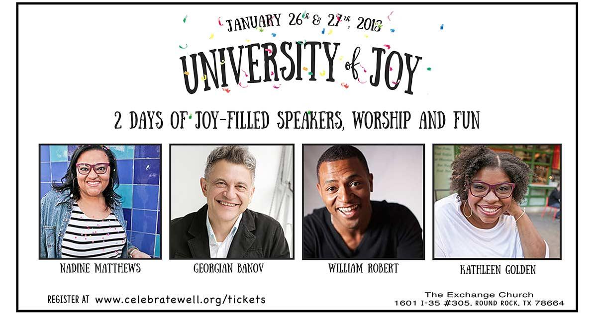 University of Joy Conference Austin, TX