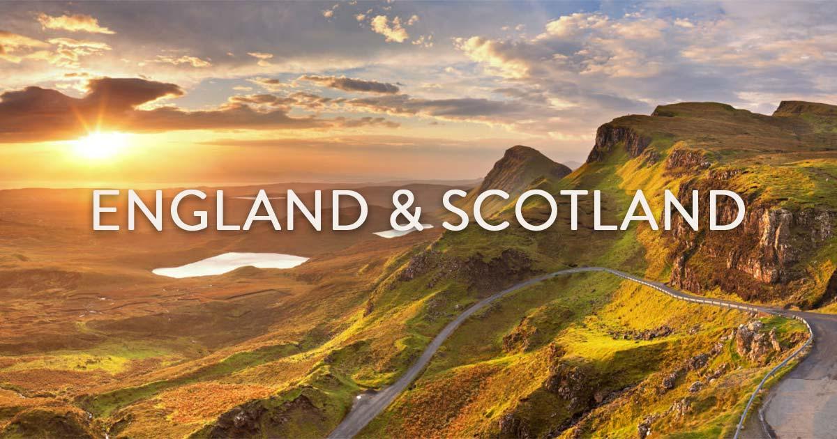 England & Scotland